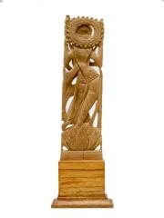 Статуэтка богини Лакшми из сандалового дерева