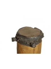 Фигура африканской женщины из дерева - барабан