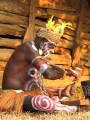 Искусство народности Asmat (Асмат), Индонезия
