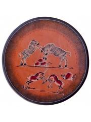 Декоративные настенные африканские тарелки из натурального камня