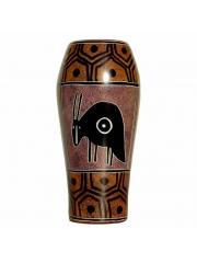 Африканские вазы из натурального камня