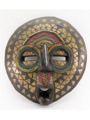 Африканская декоративная маска из Ганы Akan Anoma