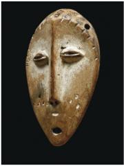 Маски и скульптуры народности Lega [Габон, Конго]