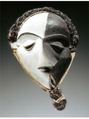 Маска Pende Mbangu [Конго] - символ кубизма