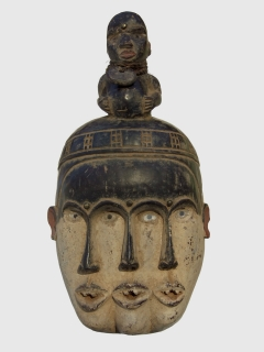 Bakongo Fetish mask [Конго], 42 см