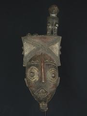 Африканская маска народности Nunuma