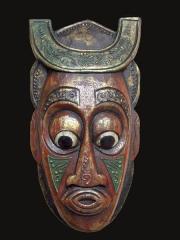 Настенные маски из Индонезии