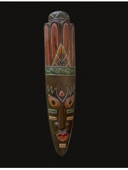 """Деревянная маска из Индонезии """"Богиня"""""""
