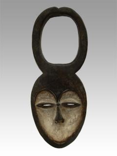 Маска Kwele [Габон], 38 см