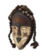 Африканская маска народности Vuvi, Габон