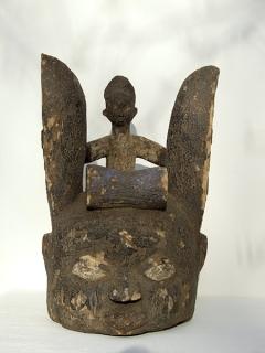 Маска шлем Yoruba Epa [Нигерия], 40 см