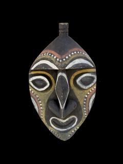 Маска Sepik Kwoma [Папуа Новая Гвинея], 24 см