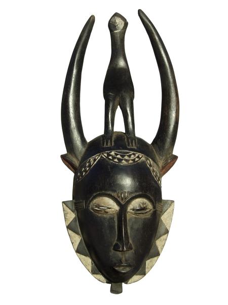 Портретная маска народа Yaure