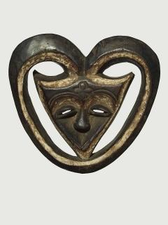 Маска Kwele [Габон], 24 см