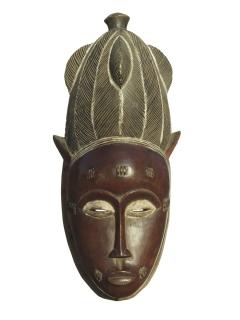 Маска Baule Mblo [Кот-д'Ивуар], 50 см