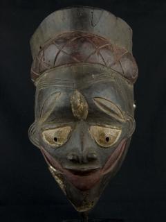 Маска Yoruba Gelede Igi [Нигерия]