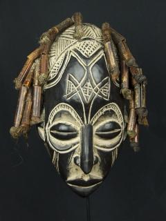 Маска Chokwe [Ангола/Конго], 38 см