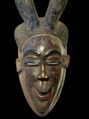 Африканская маска Baule