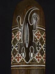 """Настенная маска из дерева """"Саламандра"""", Индонезия"""