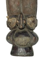 Шлем наголовник Night Society Mask. Страна происхождения Камерун. Материал дерево. Высота 50см.