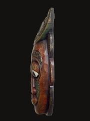 """Настенная маска из дерева """"Дух Луны"""", Индонезия"""