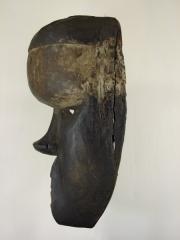 Африканская маска воина Salampasu