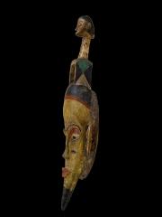 Ритуальная африканская маска Guro