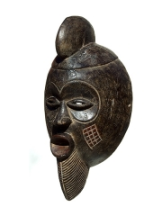 Ритуальная маска народа Мосси