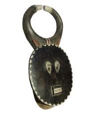 Аутентичная ритуальная африканская маска Baule Goli Kple Kple