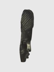 """Настенная африканская маска из черного дерева """"Черный ангел"""""""