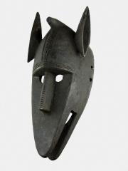 Африканская маска Bamana Hyena общества Kore