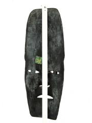 """Купить африканскую настенную маску из дерева """"Между небом и землей"""". Цена 3800 рублей. Доставка по всей России"""