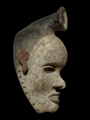 Африканская маска фетиш народности Bakongo (Конго)