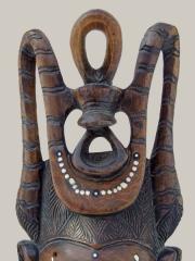 Купить африканскую маску из дерева народности Igbo с доставкой по России. Цена 8200 рублей