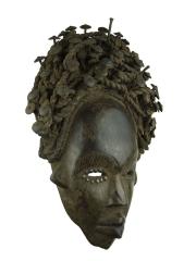 Африканская маска-фетиш народности Bakongo