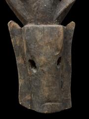 Маска народности Бауле.Происхождение: Кот-д'Ивуар.Материал: дерево. Высота: 38 см.
