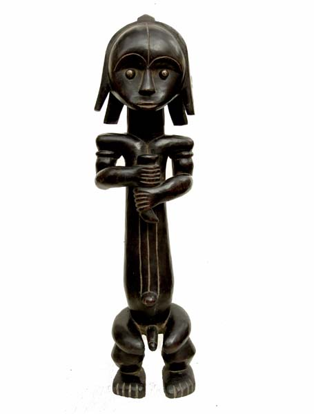Оригинальная статуэтка народности Fang (Габон)