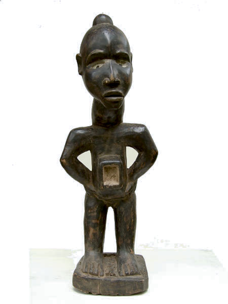 Оригинальная статуэтка народности Bakongo Power Figure