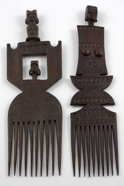 Африканские гребни для волос