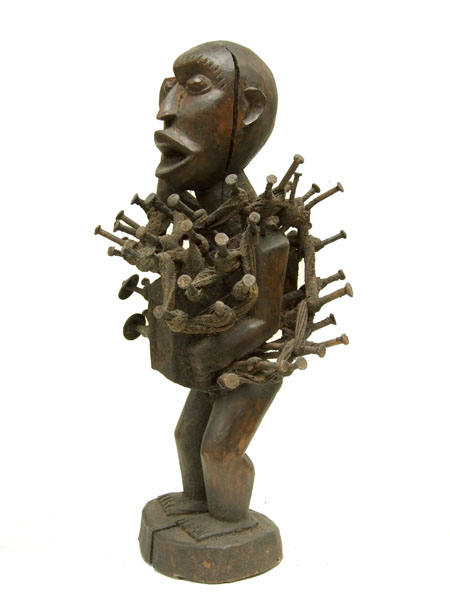 Nkisi Power Figure