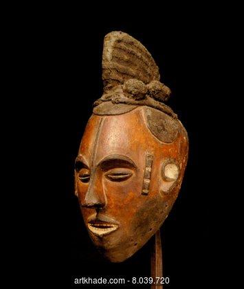 Маска Igbo agbogho mmwo из базы данных Artkhade