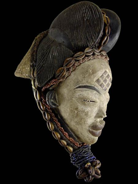 Африканская маска шлем