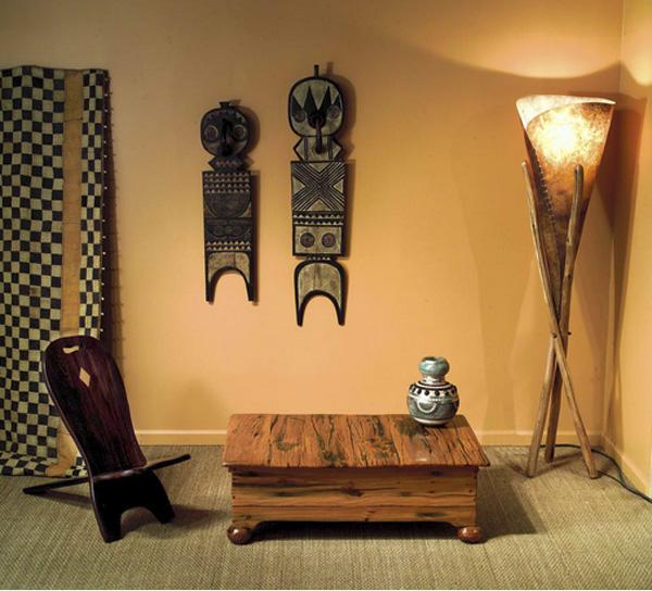 10 вариантов интерьера в африканском стиле