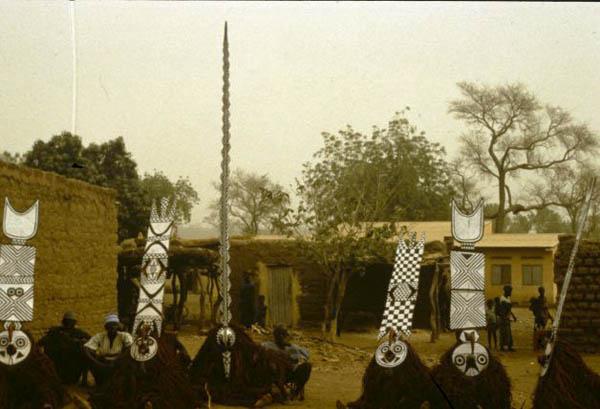 BWA Plank mask, африканская маска народности BWA