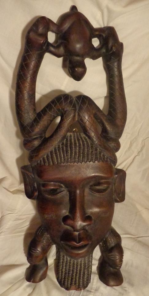 Африканская настенная маска из Мали
