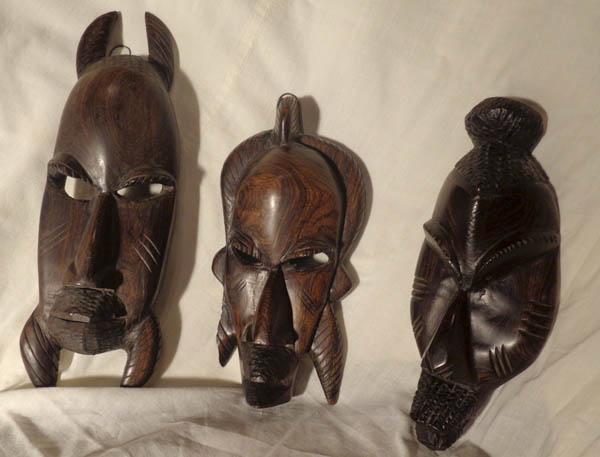Африканские настенные маски из Мали