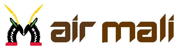 Маска Чивара в логотипе авиакомпании Мали