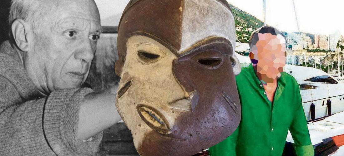 Пикассо и маска Pende