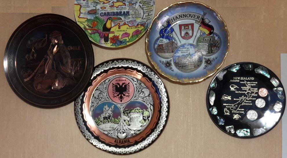 Декоративная тарелка на стену из Албании