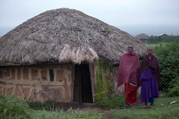 Дом африканцев племени масаи